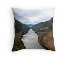 Lower Ausable Lake Throw Pillow
