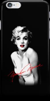 Marilyn Monroe w/ signature by jzimm95