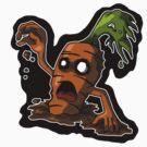 Zombie Carrot by HartmanArts