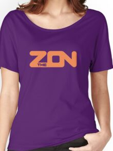 ZON classic (orange ink) Women's Relaxed Fit T-Shirt