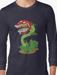 Piranha Plant Long Sleeve T-Shirt