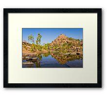 Bell Gorge Framed Print
