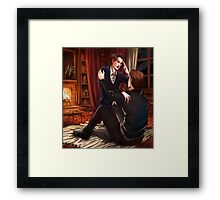 All in your mind Framed Print