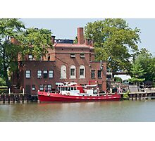 Fire Boat Photographic Print