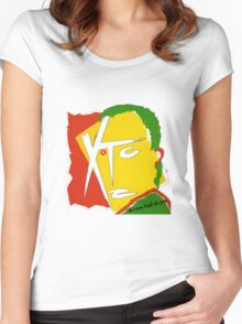 XTC Drums and Wires Women's Fitted Scoop T-Shirt