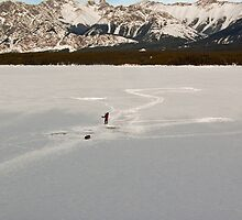 Ice Fishing in the Kananaskis by AudraJS