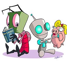 "Invader Zim- ""I, Gir"" by andyjhunter"