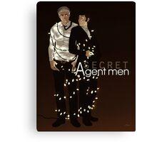 Secret Agent Men Canvas Print