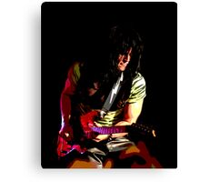 Guitar Player Shredding Canvas Print
