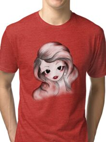 Fashionable Girl Tri-blend T-Shirt
