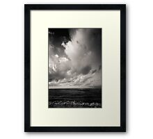 summer ver.black Framed Print