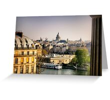 View of Paris from the Louvre Greeting Card