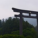 Hongu Shrine Torii Gate, Kumano Kodo by Skye Hohmann