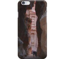 The Siq, Petra, Jordan iPhone Case/Skin