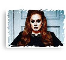 Adele Painting Art - #adele  Canvas Print