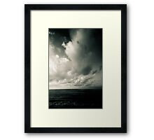 summer ver.greenblack Framed Print