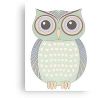 One Cool Owl Canvas Print