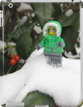 LEGO Mini Eskimo in Holly  by ArtShopEtc