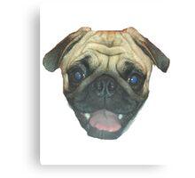 Pugsler Daisy Canvas Print