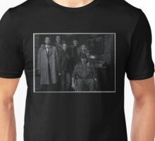 Sam, Bobby, Dean, Cas, Ellen, and Jo picture Unisex T-Shirt