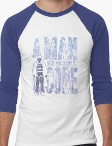 A Man Got To Have A Code Men's Baseball ¾ T-Shirt