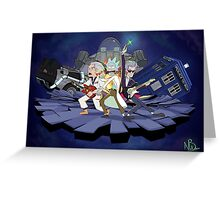 Rick and the Time Lords Greeting Card