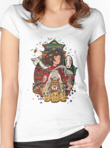 Totoro Ghibli Women's Fitted Scoop T-Shirt