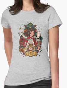 Totoro Ghibli Womens Fitted T-Shirt