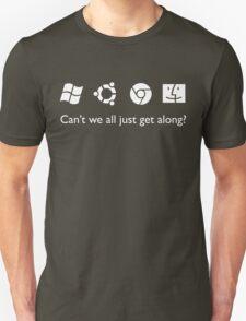 Get Along (B&W) T-Shirt