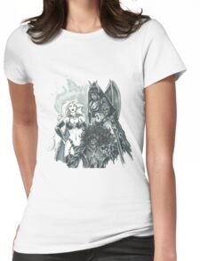 Chaos Trinity Womens Fitted T-Shirt