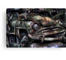 Rusted Smiles Canvas Print