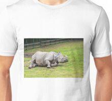 Greater One-horned Rhino Unisex T-Shirt