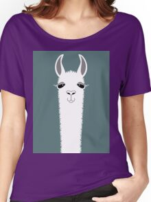 LLAMA PORTRAIT #7 Women's Relaxed Fit T-Shirt