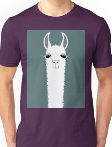 LLAMA PORTRAIT #7 Unisex T-Shirt