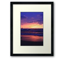 Thanksgiving Sunset Framed Print