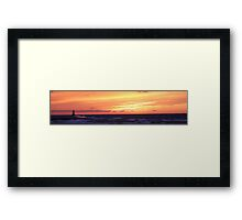 Thanksgiving Sunset 1 Framed Print