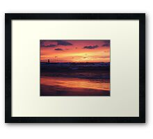 Thanksgiving Sunset 2 Framed Print