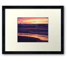 Thanksgiving Sunset 4 Framed Print
