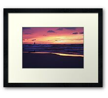 Thanksgiving Sunset 5 Framed Print