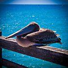 Guarding the Pier by Adam Kuehl