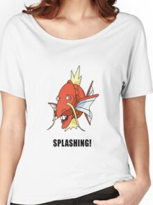 Splashing! Women's Relaxed Fit T-Shirt