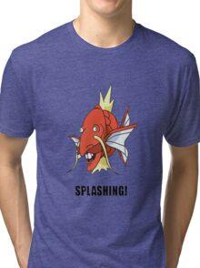 Splashing! Tri-blend T-Shirt