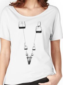 Ski Lifts Women's Relaxed Fit T-Shirt