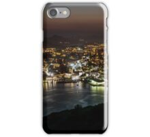 Dubrovnik at night iPhone Case/Skin
