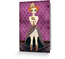 Steampunk Annie Greeting Card