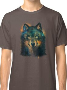 Galaxy Wolf Classic T-Shirt