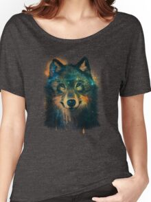 Galaxy Wolf Women's Relaxed Fit T-Shirt