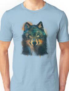 Galaxy Wolf Unisex T-Shirt