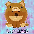Llamarmy lion!! by Kati9508
