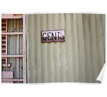 Gents Poster